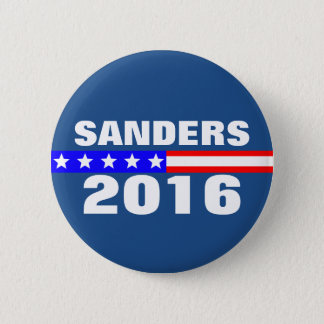 Sanders 2016 Presidential Election Campaign 6 Cm Round Badge