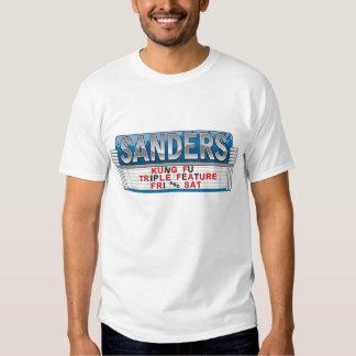 Sanders Kung Fu Triple Feature Tshirts