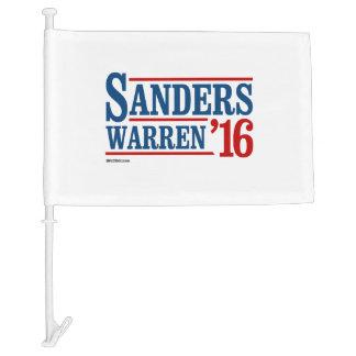 Sanders Warren 2016 Car Flag