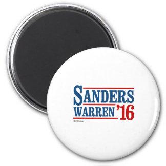 Sanders Warren 2016 6 Cm Round Magnet