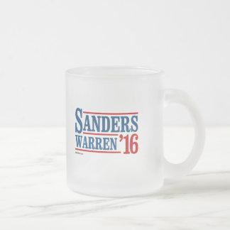 Sanders Warren 2016 Frosted Glass Mug