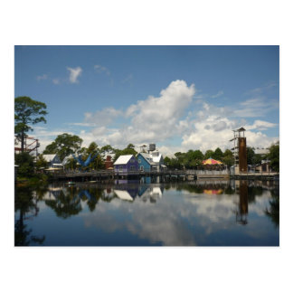 Sandestin Baytown Water Reflection Postcard