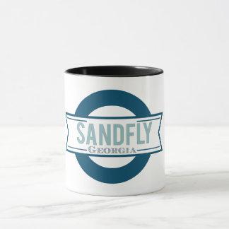 Sandfly Georgia Two-Tone Coffee Mug