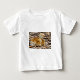 Sandhill Crane Chick Baby T-Shirt