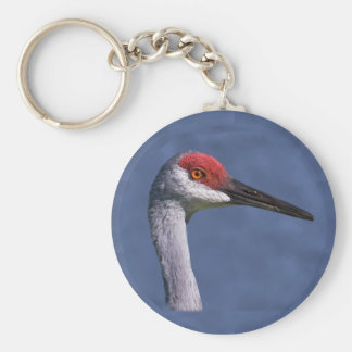 Sandhill Crane Lovely Lady KeychainWho can resist Key Ring