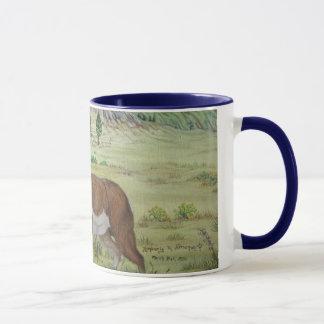 Sandhills Pronghorn Antelope Wildlife Art Mug
