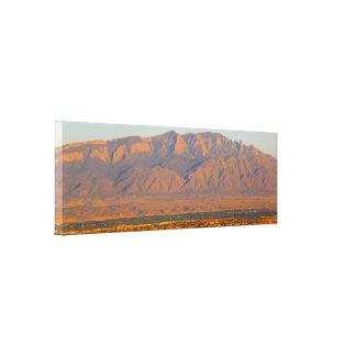 Sandia Mountains Bernalillo New Mexico Canvas Print