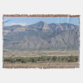 Sandia Mountains, Bernalillo, New Mexico Throw Blanket