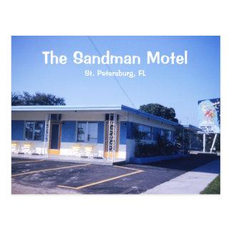 Sandman Motel Postcard