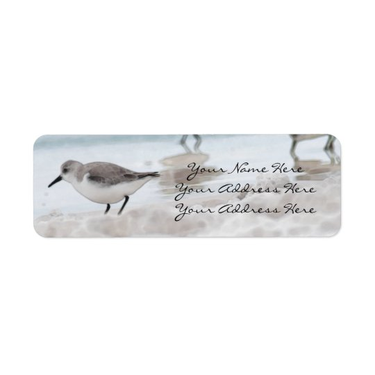 Sandpiper Return Address Labels