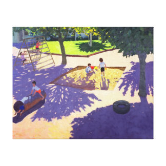 Sandpit France Gallery Wrap Canvas