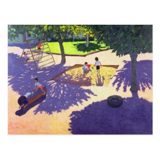 Sandpit France Postcard