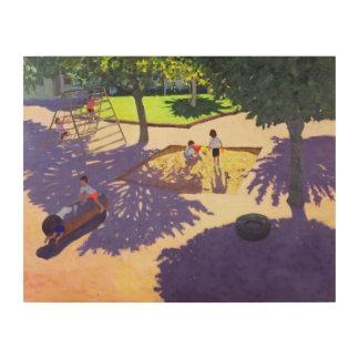 Sandpit France Wood Canvas