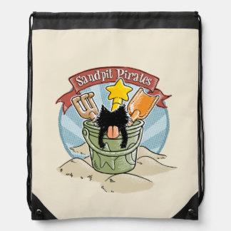Sandpit Pirates Cinch Bags