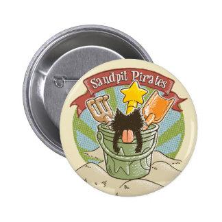 Sandpit Pirates Pinback Buttons