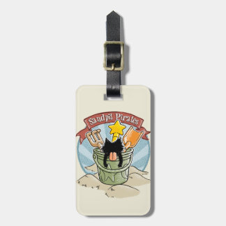 Sandpit Pirates Bag Tag