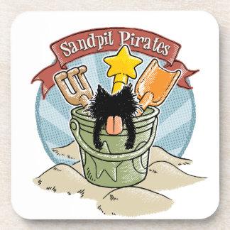 Sandpit Pirates Drink Coaster