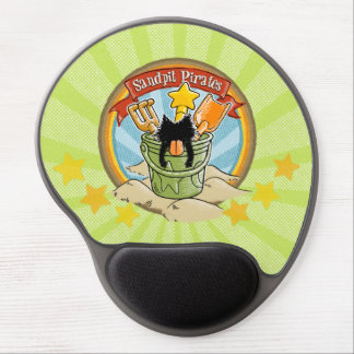 Sandpit Pirates Gel Mouse Pad