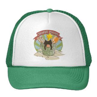 Sandpit Pirates Trucker Hats
