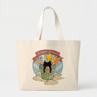 Sandpit Pirates Jumbo Tote Bag