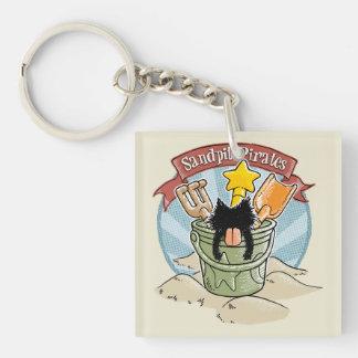Sandpit Pirates Key Chain