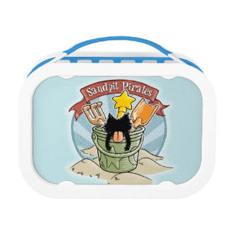 Sandpit Pirates Lunch Boxes