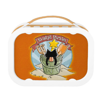 Sandpit Pirates Lunchboxes