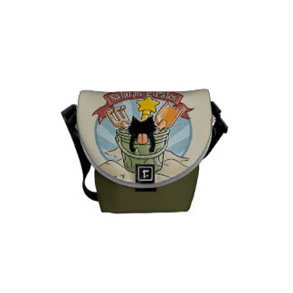 Sandpit Pirates Messenger Bags