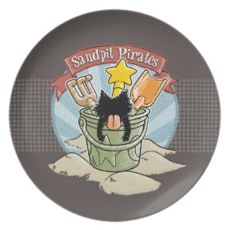 Sandpit Pirates Plates