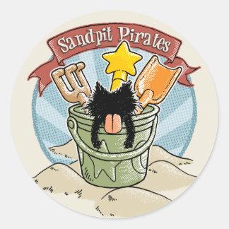 Sandpit Pirates Sticker