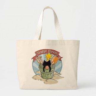 Sandpit Pirates Canvas Bag