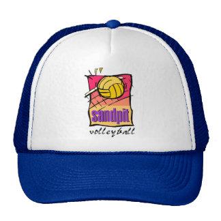 Sandpit Volleyball Gift Mesh Hat