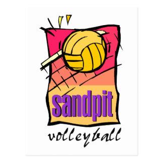 Sandpit Volleyball Gift Postcard