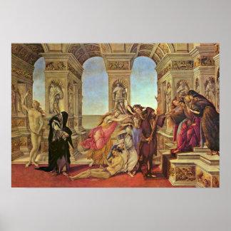 Sandro Botticelli - Calumny of Apelles Poster