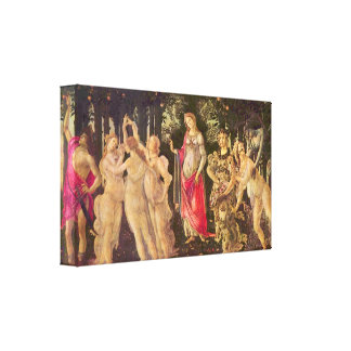 Sandro Botticelli - First Spring Stretched Canvas Prints