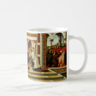 Sandro Botticelli - Last Miracle and the Death of Coffee Mug