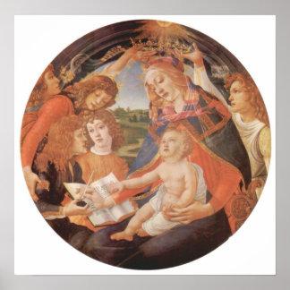 Sandro Botticelli-Madonna the Magnificent Poster