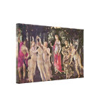 Sandro Botticelli - Spring (Primavera) Gallery Wrapped Canvas