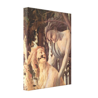Sandro Botticelli - Spring (Primavera), detail Canvas Print