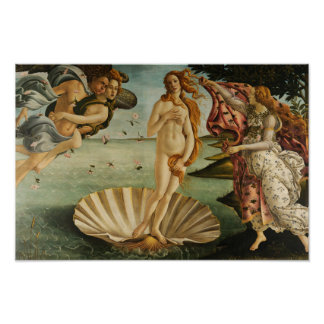 Sandro Botticelli - The Birth of Venus Poster