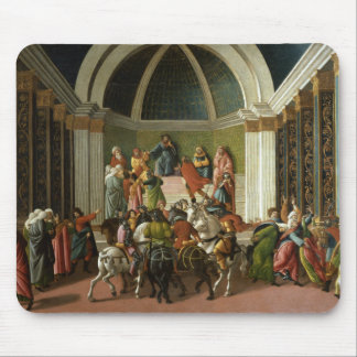 Sandro Botticelli - The Story of Virginia Mouse Pad