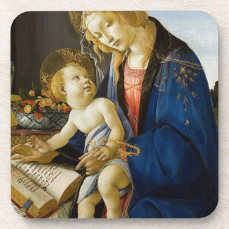 Sandro Botticelli - The Virgin and Child Drink Coaster