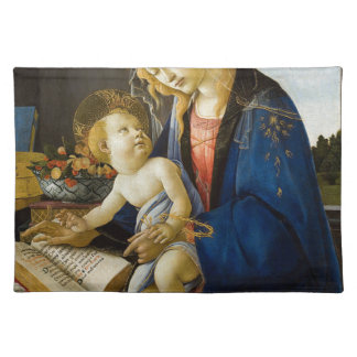 Sandro Botticelli - The Virgin and Child Placemat