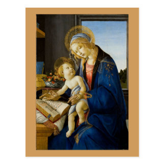 Sandro Botticelli - The Virgin and Child Postcard