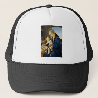 Sandro Botticelli - The Virgin and Child Trucker Hat