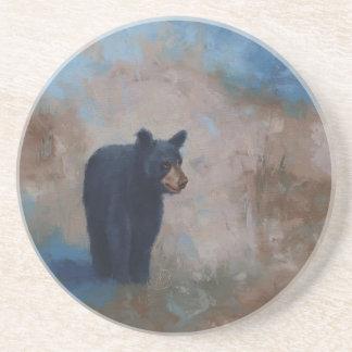 Sandstone Coaster with Sunny Bear