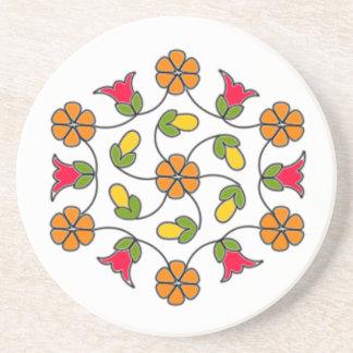 Sandstone Coasters-Flower Series#63 Drink Coaster