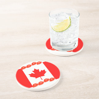 Sandstone Drink Coaster- LOVE CANADA designed Coaster