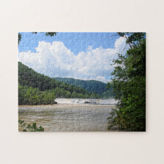Sandstone Falls, West Virginia Jigsaw Puzzle