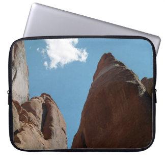Sandstone Fins Close-Up Laptop Computer Sleeve